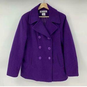 Columbia Women's Double Breasted Pea Coat Jacket